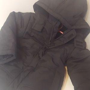 Gymboree unisex  black coat fleece  and warm